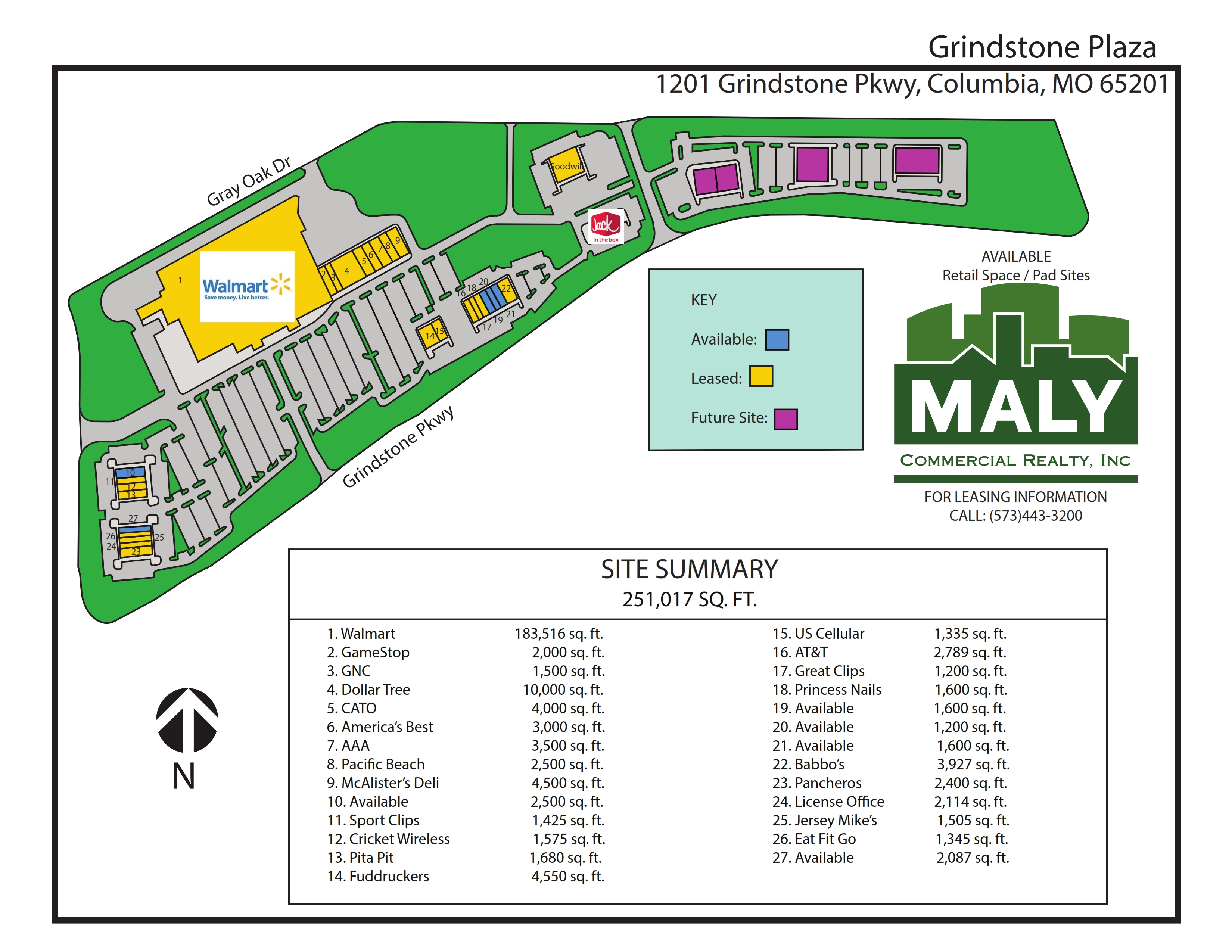 Grindstone Plaza – 6 acres