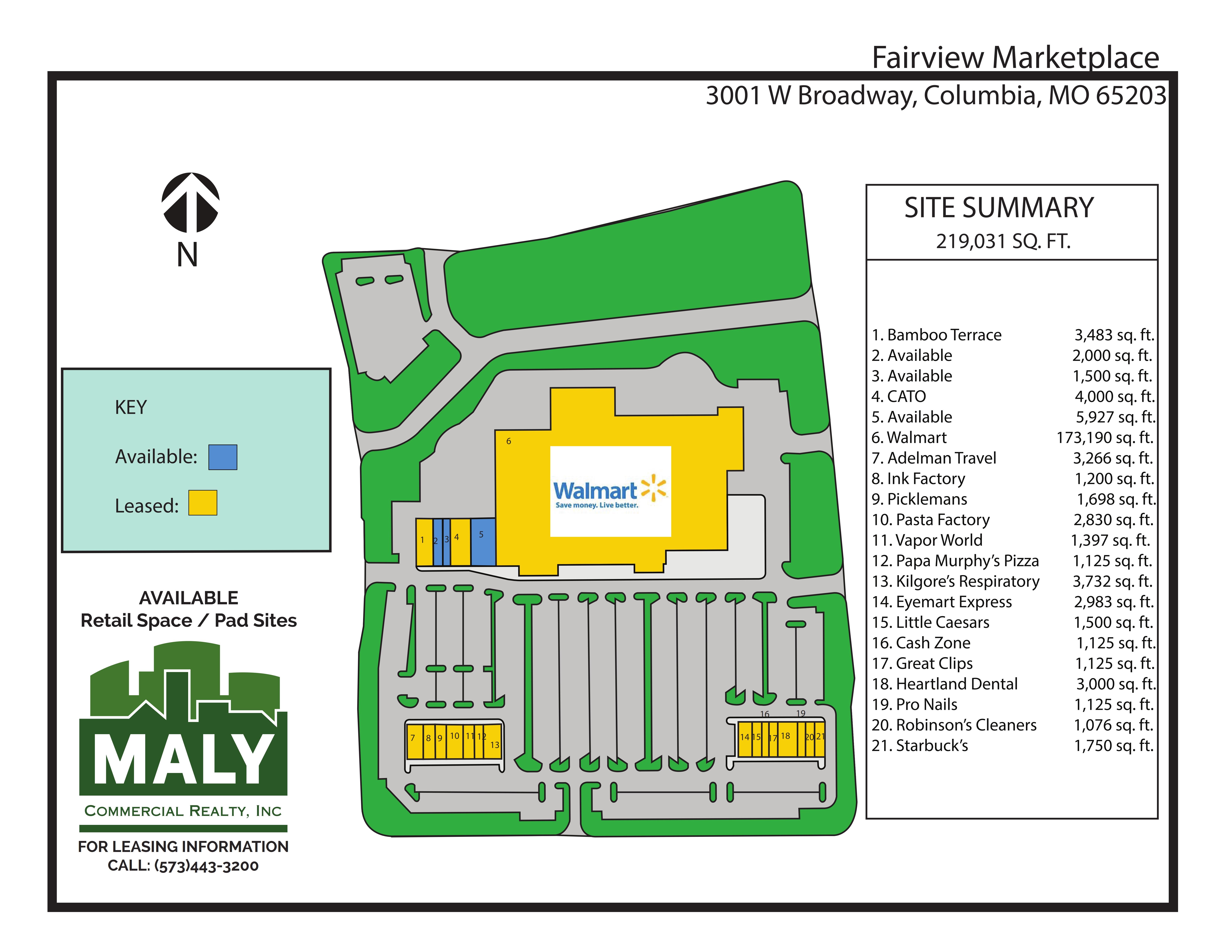 Fairview Marketplace – Unit 5