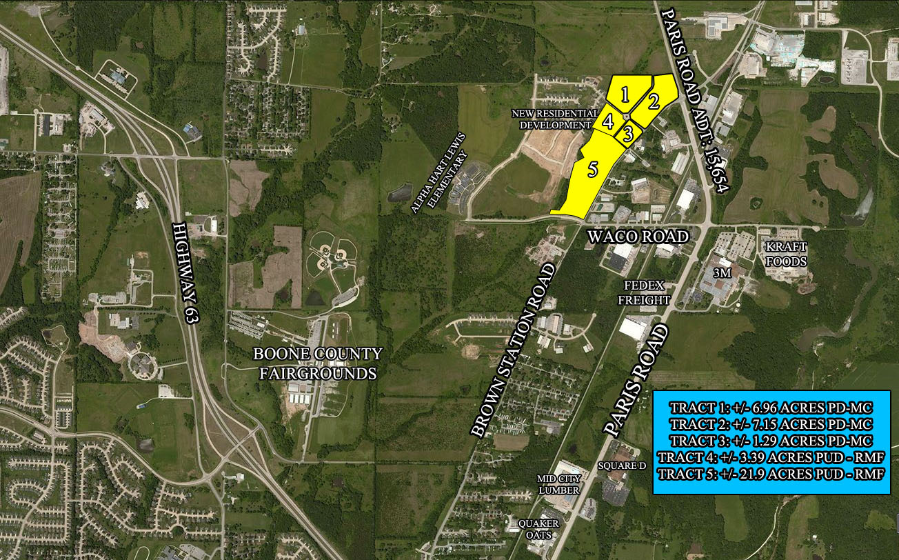 Brown Station And Paris Road Maly Commercial Realty - Paris road map