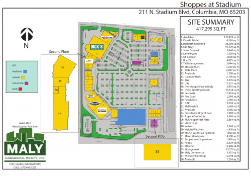 Shoppes at Stadium – Unit 23